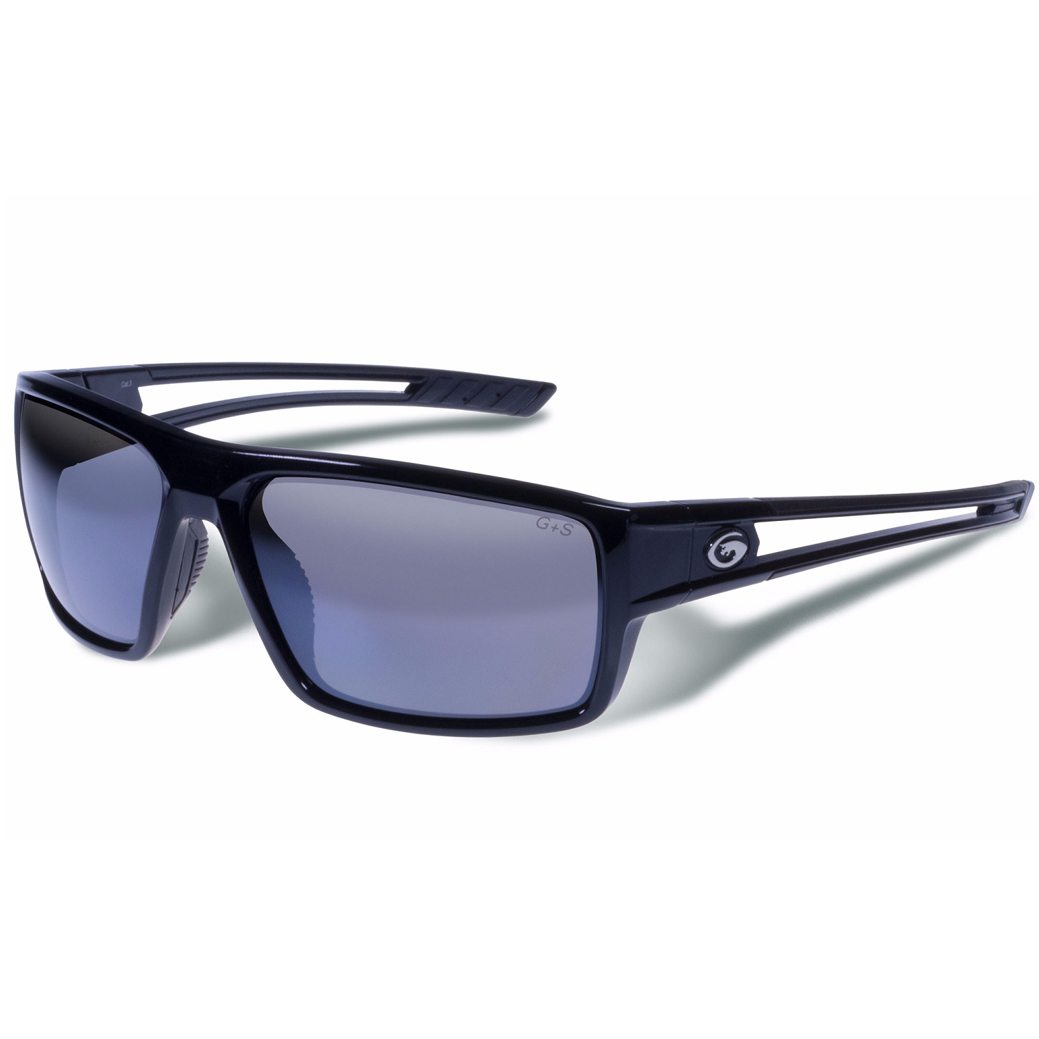 Gargoyles Rampart Performance Sunglasses-Silver Mirror Lens