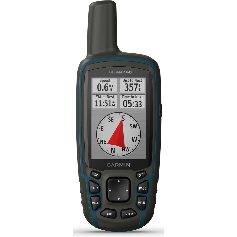 "2.6"" Handheld GPS with TopoActive maps"