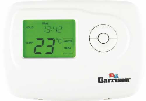 GARRISON DIGITAL THERMOSTAT, SINGLE STAGE PROGRAMMABLE