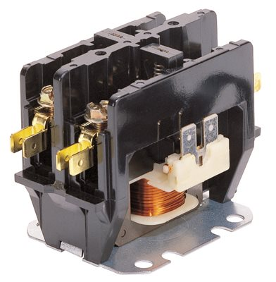 GARRISON CONTACTOR SINGLE POLE 40 AMP, 24 VOLT COIL
