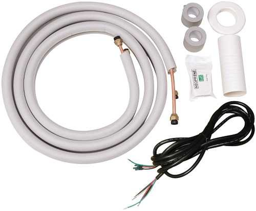 GARRISON MINI-SPLIT INSTALLATION KIT, 16 FT. PIPING KIT, 18 FT. CONNECTING WIRE (FOR 12K, 18K UNITS)