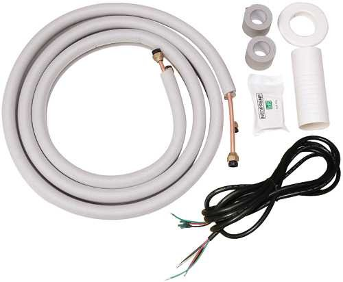 GARRISON MINI-SPLIT INSTALLATION KIT, 16 FT. PIPING KIT, 18 FT. CONNECTING WIRE (FOR 22K UNITS)