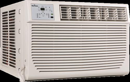 GARRISON� AIR CONDITIONER, WINDOW MOUNT, 12,000 BTU, 230/208 VOLTS, HEAT AND COOL