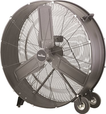 GARRISON� 2-SPEED DIRECT DRUM FAN, 36 IN., 15,400 CFM
