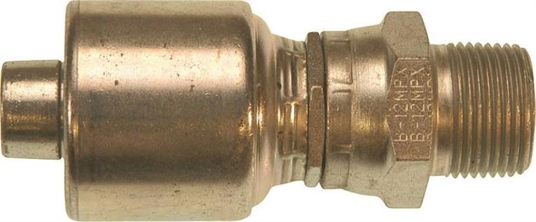 HOSE FIT HYDR 4G-4MPX 1/4IN