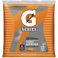 Gatorade G Series 03970 Instant Thirst Quencher Sports Drink Mix, 21 oz, Powder