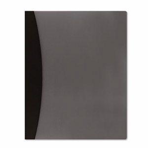 Report Cover w/Hidden Swing Clip, Letter Size, Black