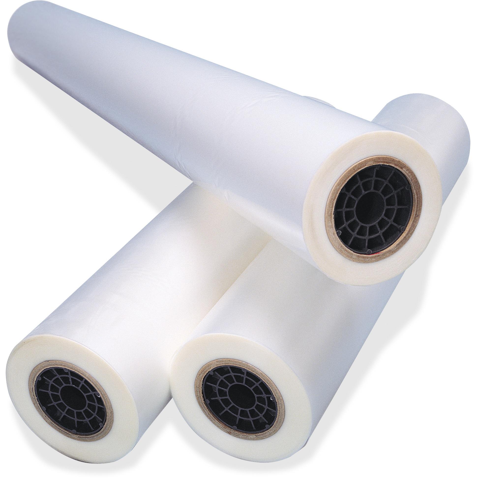 """NAP-Lam I Roll Film, 1.5 mil, 1"""" Core, 25"""" x 500 ft., 2 per Box"""