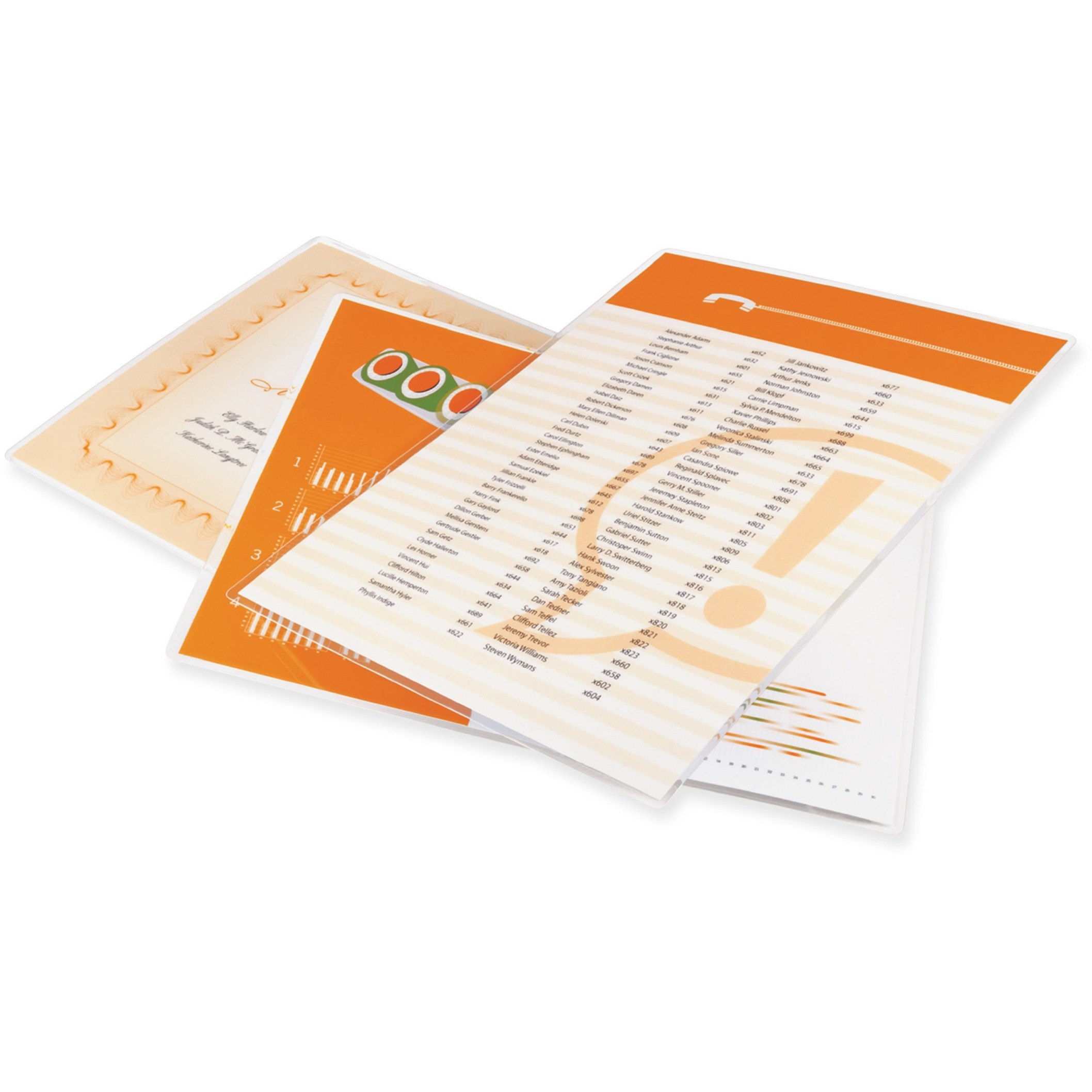 UltraClear Thermal Laminating Pouches, Letter, 10mil, 11 1/2 x 9, 50/Box