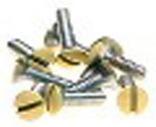 GB 14-WPI Flat Head Wall Plate Screw Kit, 32 X 1/2 in, Ivory