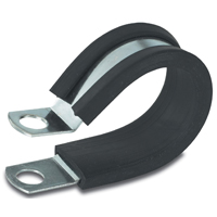 GB PPR-1558 Insulated Clamp, 5/8 in, Steel, Black