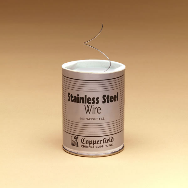 Wire, 304-alloy Stainless - 1 lb, 21-ga. Approx 366'