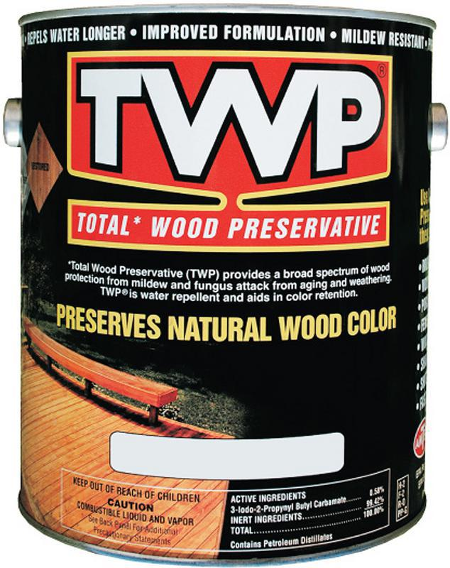 Twp100 1 Gallon Clear Wood Preservative