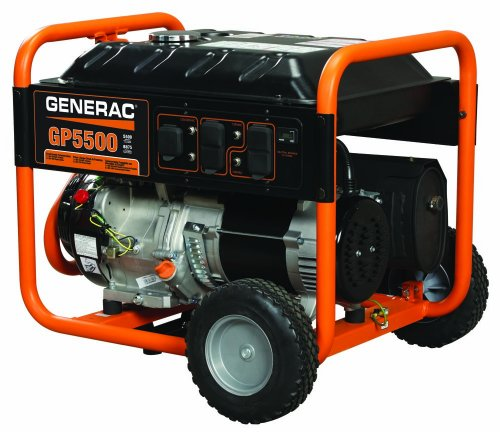GENERAC GAS POWERED GENERATOR RECOIL START