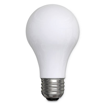 Reveal A19 Light Bulb, 43W, 4/Pack