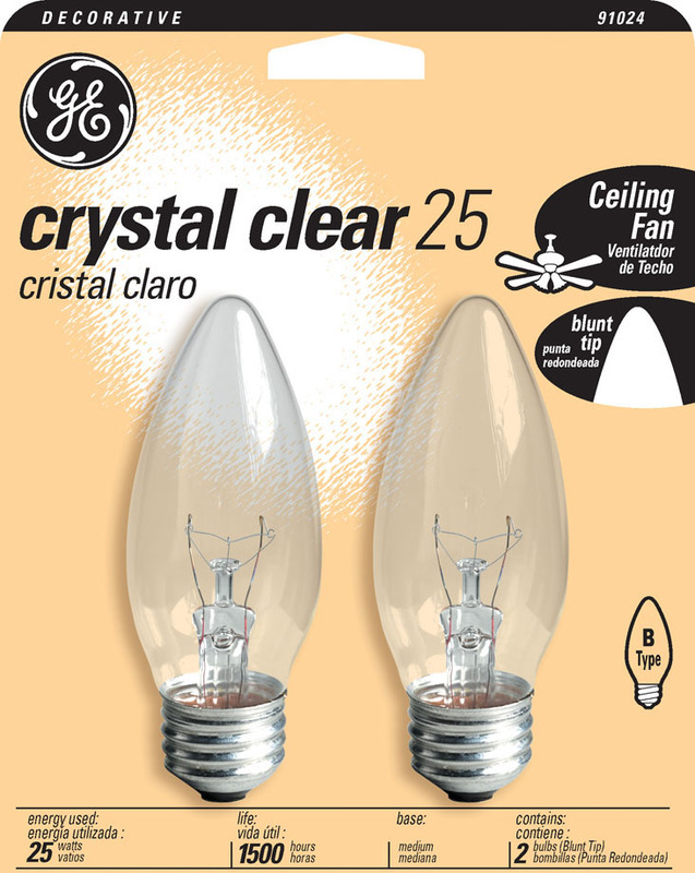 25BM MEDIUM CLEAR FLAIR BULB
