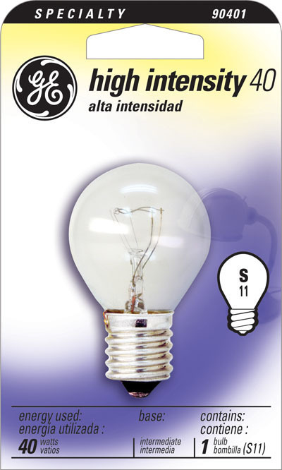 40S11N/1 S11 HI INTENSITY BULB