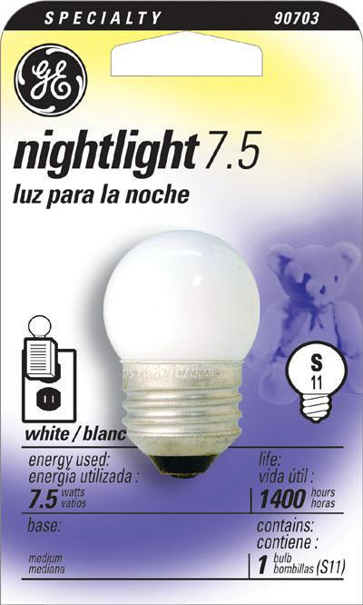 7-1/2S/CW WHITE NIGHT LIGHT
