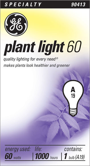 60A/PL GRO & SHO LAMP