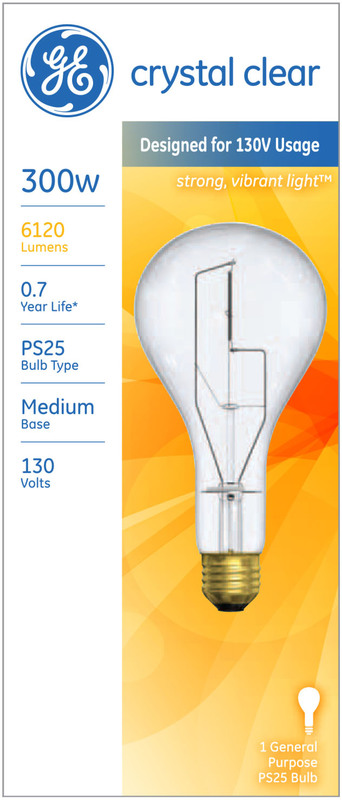 73788 300M CRYSTAL CLEAR BULB