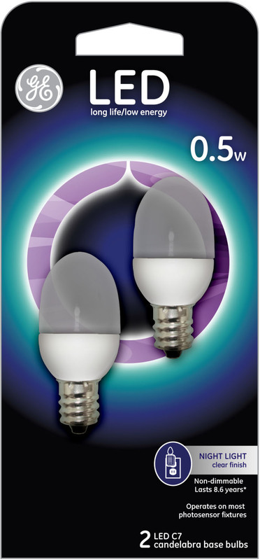 13887 ES LED 0.5W C7 BULB