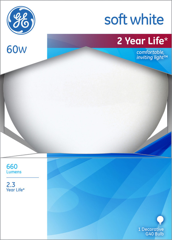 60G40/W 60W MOONGLOW LAMP