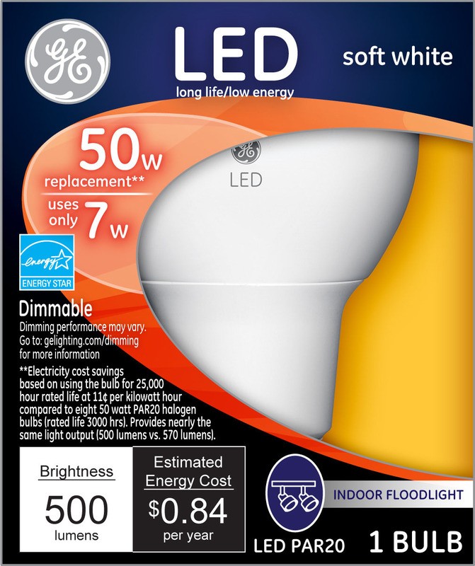 74374 LED 50W PAR20 FLOOD