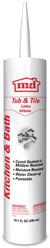 WHITE TUB/TILE SEALANT