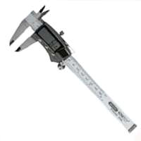 General Tools 147 Tri-Mode Digital Caliper, 0 - 6 in, 1.57 in, Stainless Steel, Silver