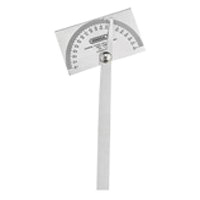 General Tools 17 Square Head Protractor, 0 - 180 deg, Stainless Steel, Silver