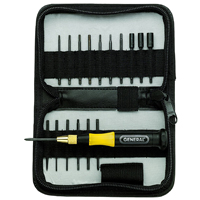 General Tools 63518 Precision Ultratech Screwdriver Set, 18 Pieces