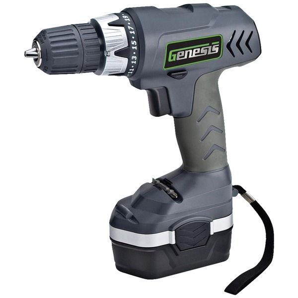 Genesis GCD18CP 18-Volt Cordless Drill/Driver