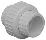 37207 3/4 IN. STAINLESS STEEL SCH40 PVC UNION