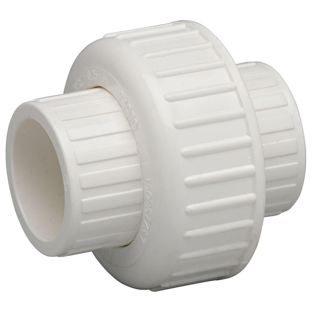 1-1/2 IN. STAINLESS STEEL SCH40 PVC UNION