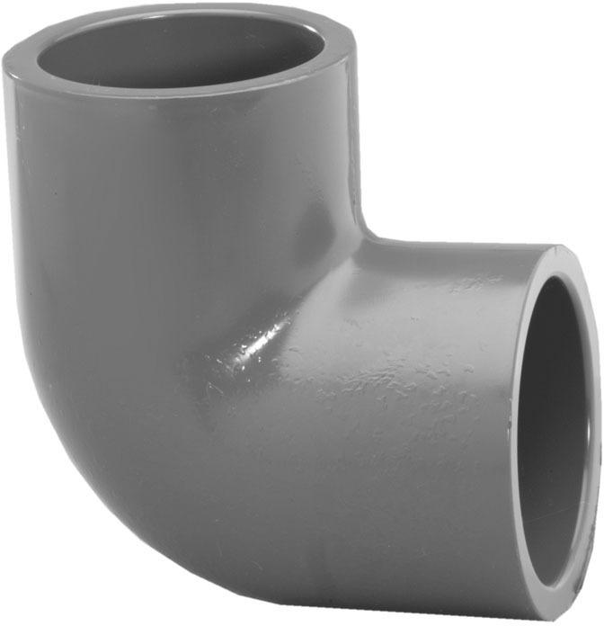 307208 2 IN. PVC S80 90 ELBOW
