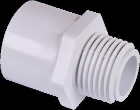30412 2 IN. X1-1/2 IN. PVC M ADAPTER