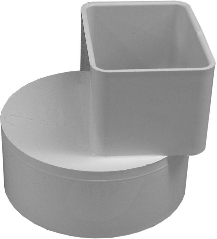 46234 2X3X4 DOWNSPOUT ADAPTER