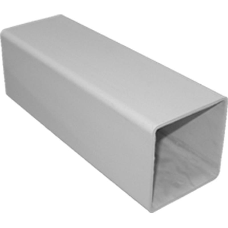 DW038 4X38 IN. WH RAIL POST COVER