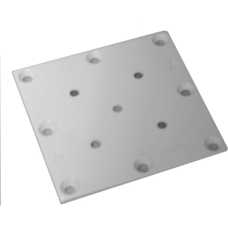 DW011 STEEL POST MOUNT PLATE