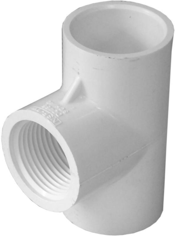 31475 1X1X1/2 SXSXS PVC TEE