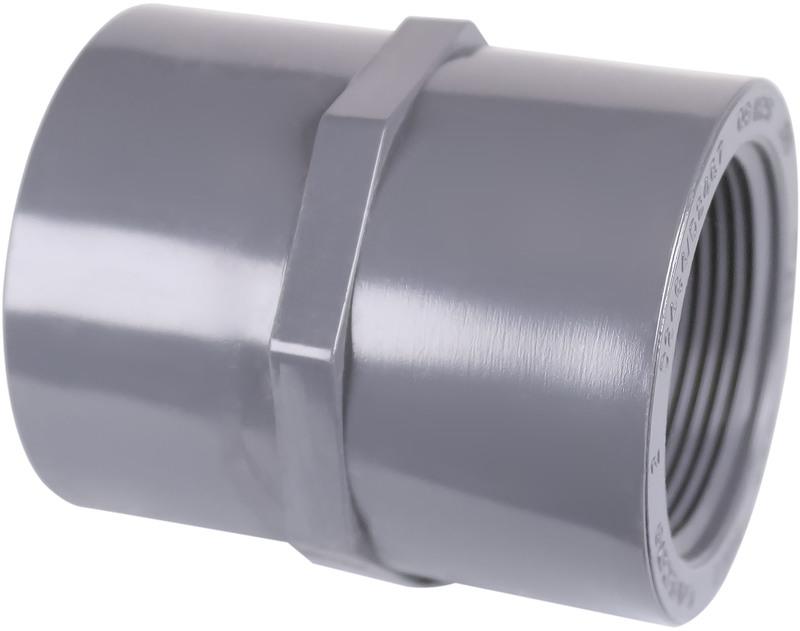 301218 11/2 IN. PVC S80 COUPLING
