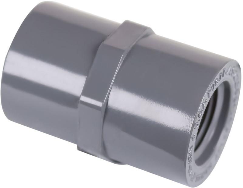301258 1/2 IN. PVC S80 COUPLING