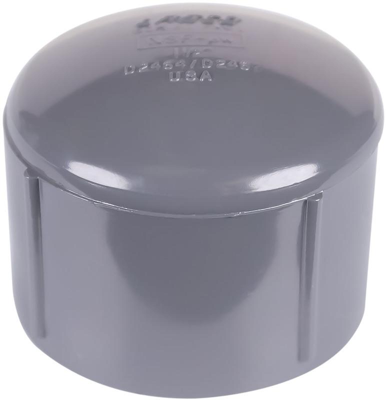 301518 11/2 IN. PVC S80 SL CAP