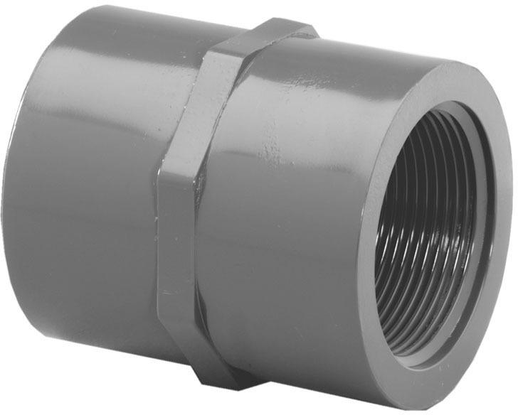 303078 3/4 PVC S80 FE ADAPTER
