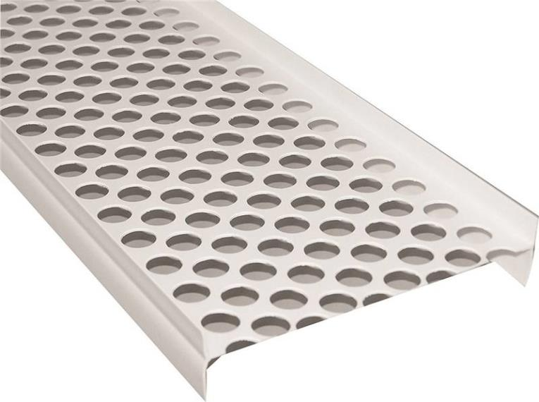 GUTTER GUARD 5FT WHITE PLASTIC