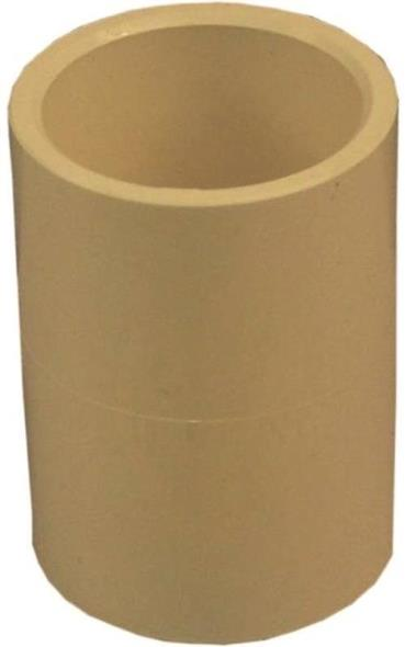 Genova 50107 Tube Coupling, 3/4 in, Slip, CPVC