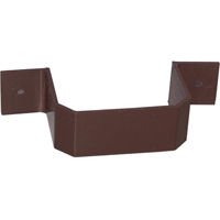 Duraspout AB302 Downspout Bracket, For Use With Raingo, Repla K or Metal Gutter Systems, 3 X 4 in, Brown