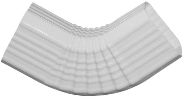 DOWNSPOUT ELBOW B 3X4IN WHITE