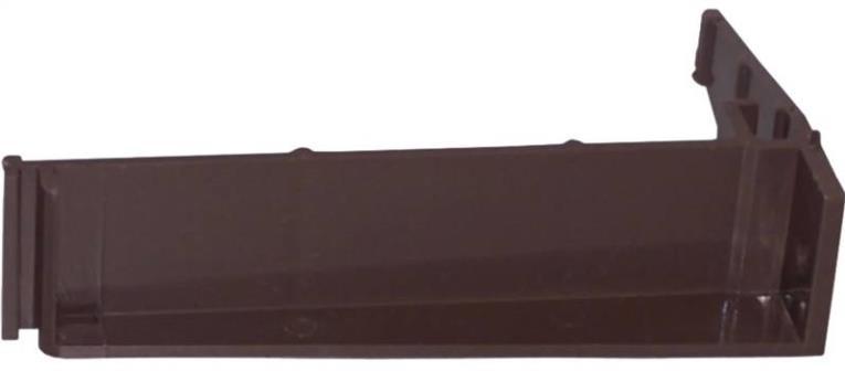 Genova AB106 Repla K Gutter Bracket, 3.1 in L X 1.1 in W X 4.9 H