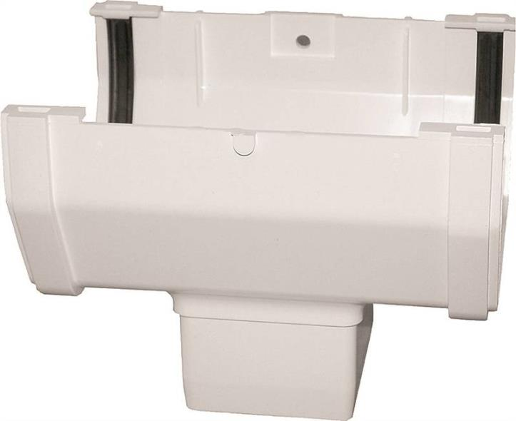 Raingo RW104 Gutter Drop Outlet, 4.9 in L X 5 in W X 6.4 in H